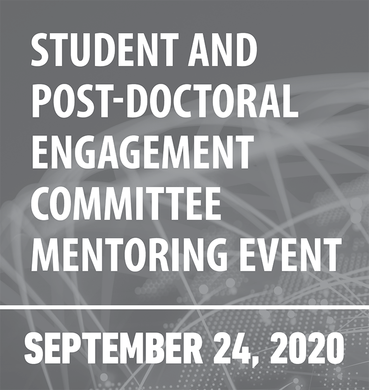Student and postdoctoral engagement committee mentoring event